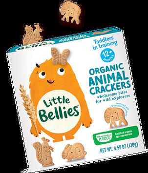 Little Bellies Organic Animal Crackers