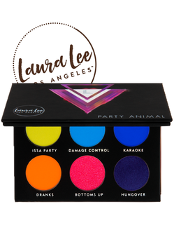 Laura Lee Los Angeles™ Party Animal Pressed Pigment Palette