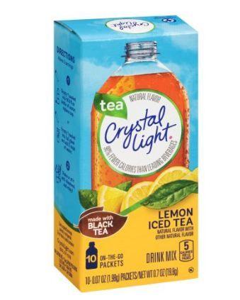Crystal Light On-the-Go Lemon Iced Tea Drink Mix