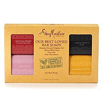 SheaMoisture Our Best Loved Bar Soaps