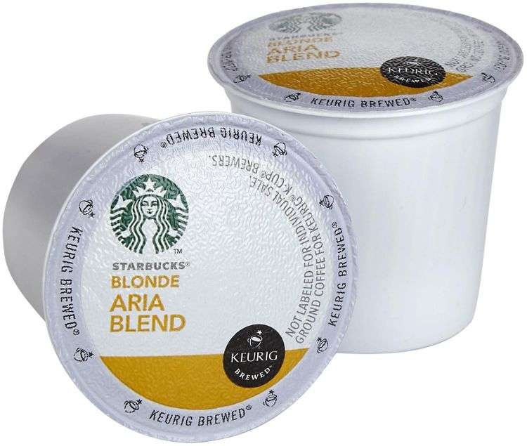 Starbucks Keurig® K-Cup® Pod Blonde Aria Blend Coffee