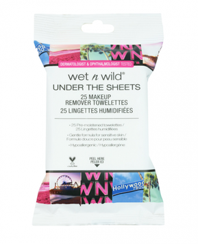 wet n wild Under The Sheets Makeup Remover Towelettes