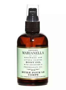 Jaboneroa Marianella Rosewood And Litsea Cubeba Body Oil 4fl.oz. Sealed