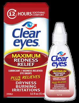Clear Eyes Maximum Redness Relief Eye Drops (0.5oz)