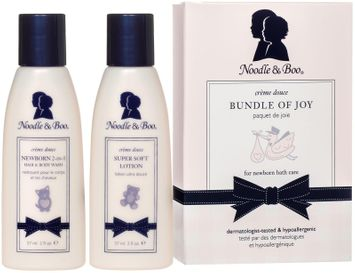 Noodle & Boo Bundle Of Joy Set: Newborn 2-in-1 Hair & Body Wash 59ml/2oz + Super Soft Lotion 59ml/2oz 2pcs