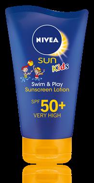 NIVEA Kids Swim & Play Sun Protection Lotion Spf 50+