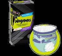 Ninjamas Large and Extra Large Nighttime Bedwetting Underwear (Boys)