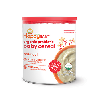 Happy Baby® Organics Oatmeal Probiotic Cereal