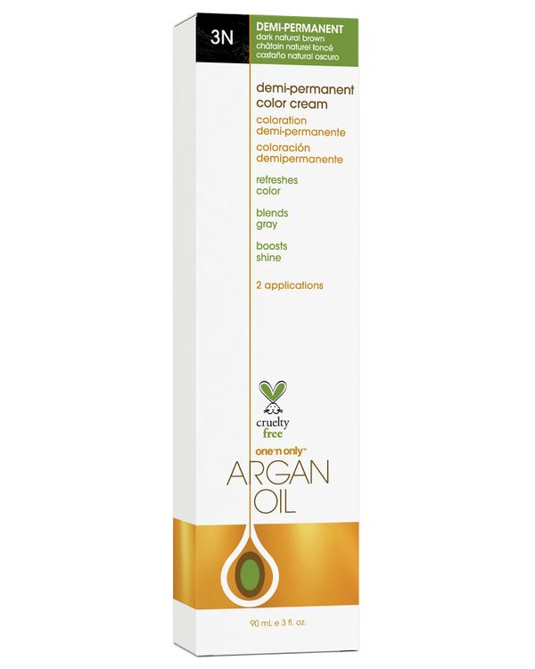 One 'n Only Argan Oil Hair Color Demi-Permanent #3N Dark Natural Brown