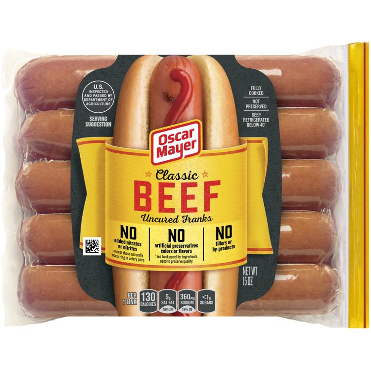 OSCAR MAYER Classic Beef Franks