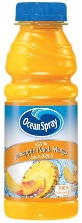 Ocean Spray 100% Pinapple Peach Mango Juice Blend
