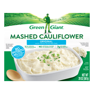 Green Giant® Original with Olive Oil & Sea Salt Mashed Cauliflower Meal