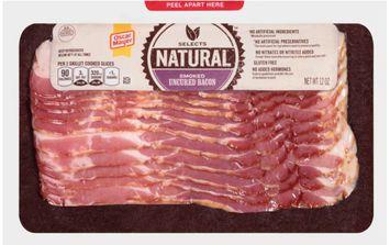 Oscar Mayer Natural Smoked Uncured Bacon