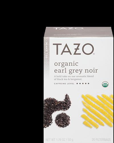Tazo Organic Earl Grey Noir Black Tea