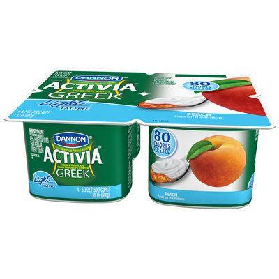 Activia® Greek Peach Light Yogurt