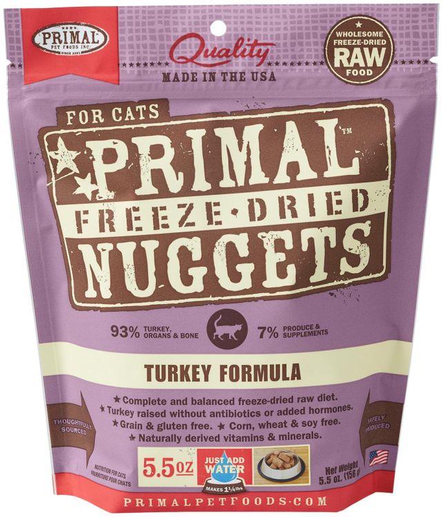 Primal Pet Food Primal Freeze Nugget Turkey Dry Cat Food