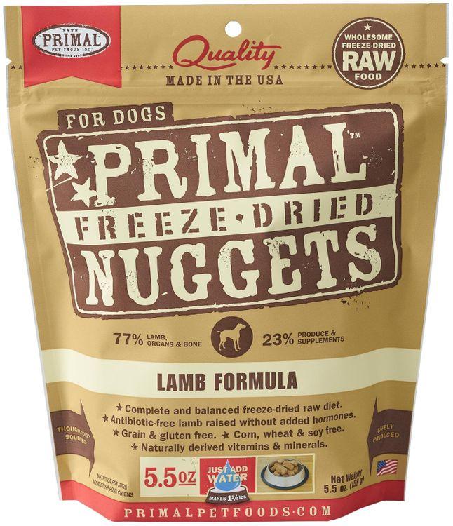 Primal Pet Food Primal Freeze Nugget Lamb Dry Dog Food