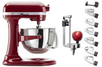 KitchenAid Exclusive Bowl-Lift Stand Mixer & Spiralizer Attachment Set