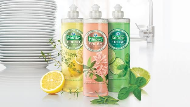 Palmolive® Ultra Fresh Infusions Concentrated Dish Liquid Lime Basil