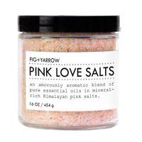 Fig + Yarrow Pink Love Salts