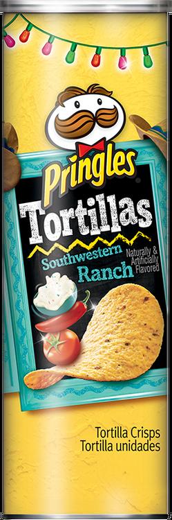 Pringles® Tortillas Southwestern Ranch