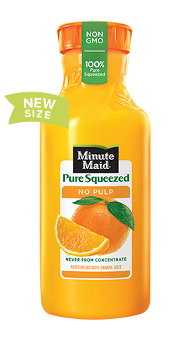 Minute Maid® Pure Squeezed No Pulp Orange Juice