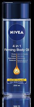 NIVEA 4 in 1 Firming Body Oil