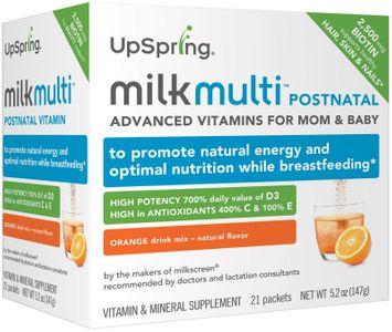 UpSpring Baby Milkmulti Postnatal Advanced Breastfeeding Vitamin - 5.2 oz - 21 ct