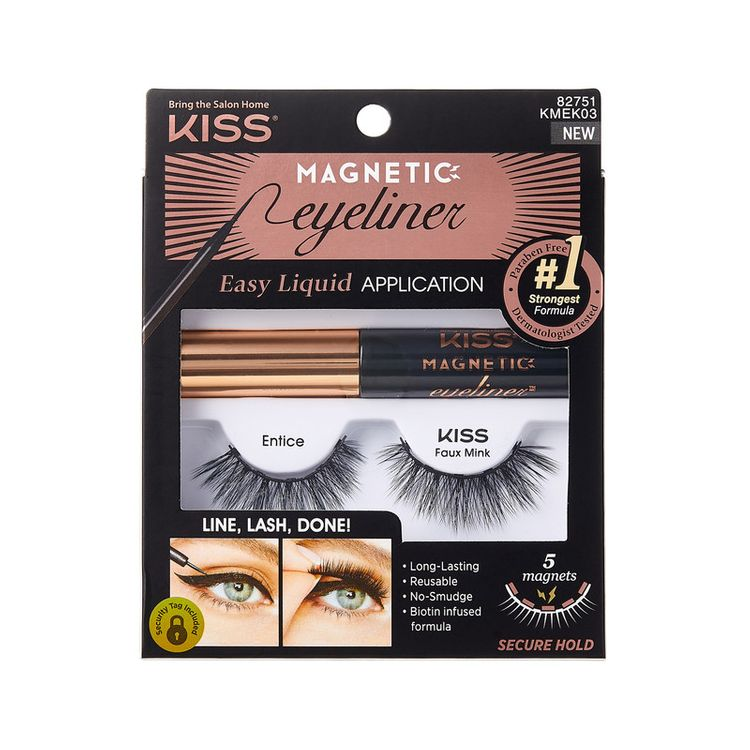 Kiss Magnetic Lashes Double Strength- Entice
