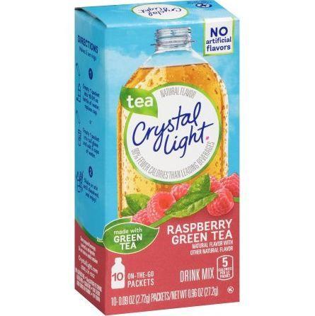 Crystal Light On-the-Go Raspberry Green Tea Drink Mix