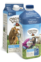 Organic Valley® Reduced Fat 2% Milk, Pasteurized
