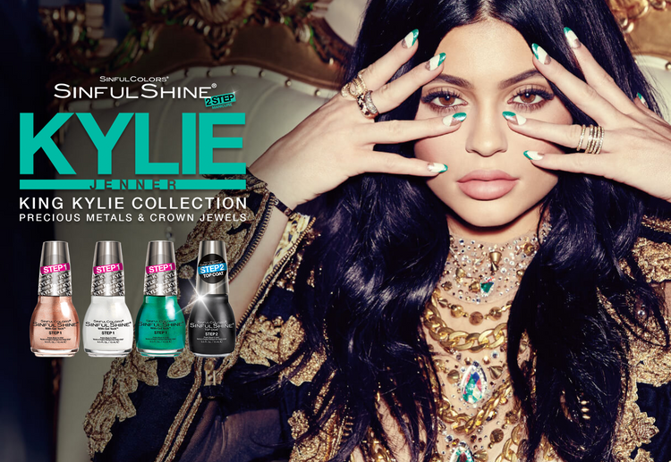 SinfulColors® SinfulShine® 2-Step ManicureKylie Jenner King Kylie Collection