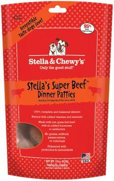 Stella Chewy S Stella & Chewy's Raw Freeze-Dried Dog Beef 16 oz Super Beef