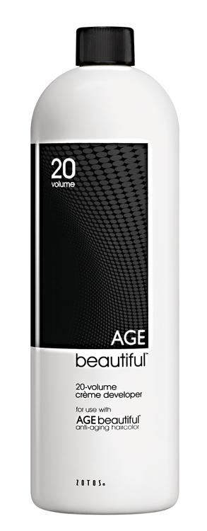 Zotos AGE beautiful Creme Developer 20 Volume