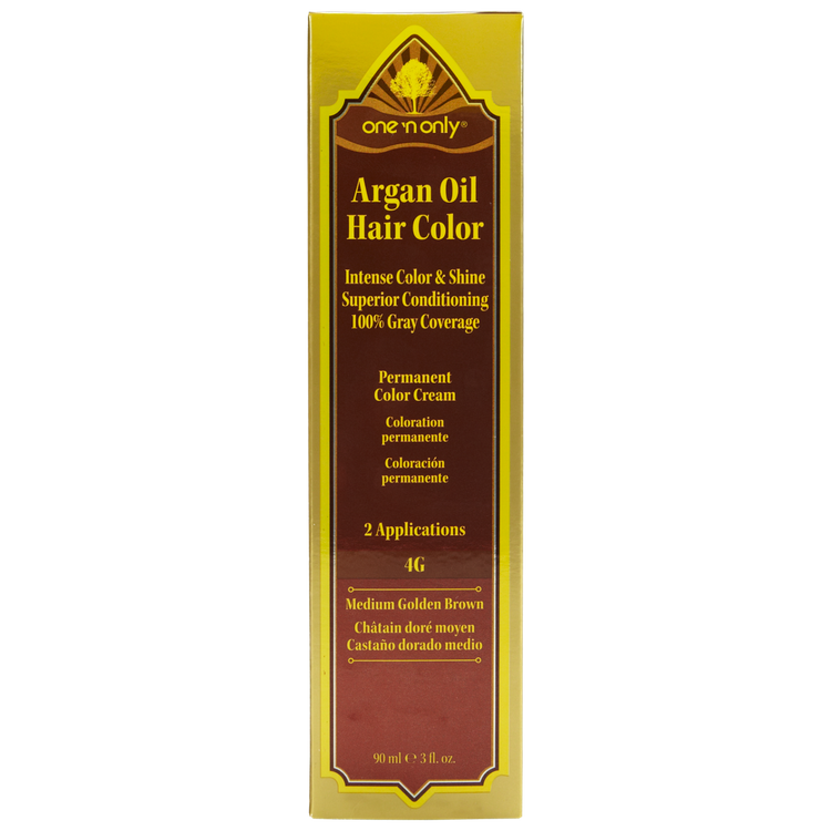 Conair One 'N Only Argan Oil Hair Color 4G Medium Golden Brown