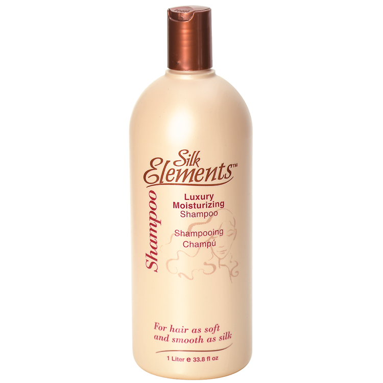 Silk Elements Luxury Moisturizing Shampoo 1 Lt.