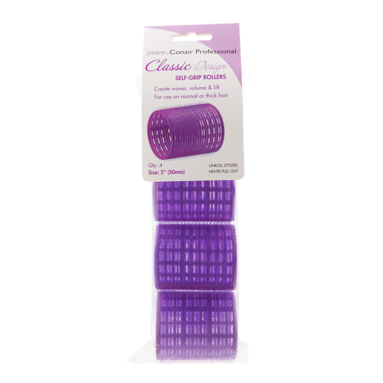 Jilbere by Conair Professional Classic Style Self Grip Rollers 4 Pack