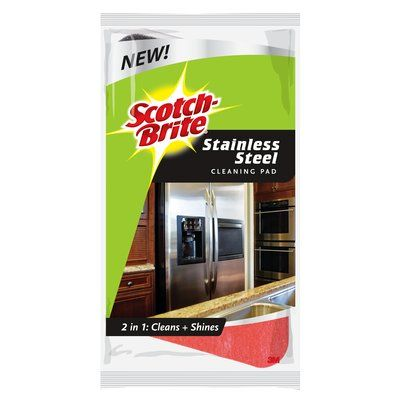 Scotch-Brite® Stainless Steel Cleaning Pad