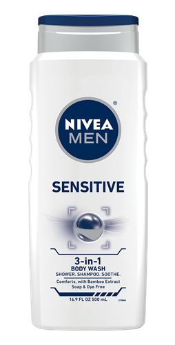 NIVEA Sensitive Men Body Wash