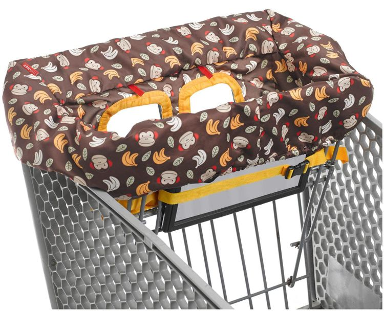 Skip Hop Zoo Shopping Cart and High Chair Cover - Monkey