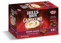 Hills Bros. Cappuccino Single Serve Cups, Double Mocha