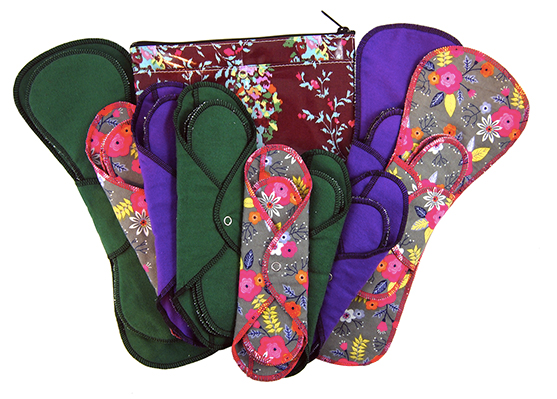 GladRags Washable Cotton Menstrual Pads