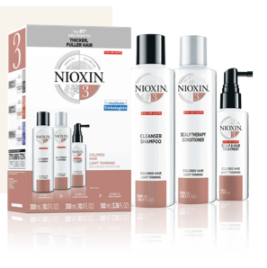 Nioxin System Kit 3: Colored Hair with Light Thinning
