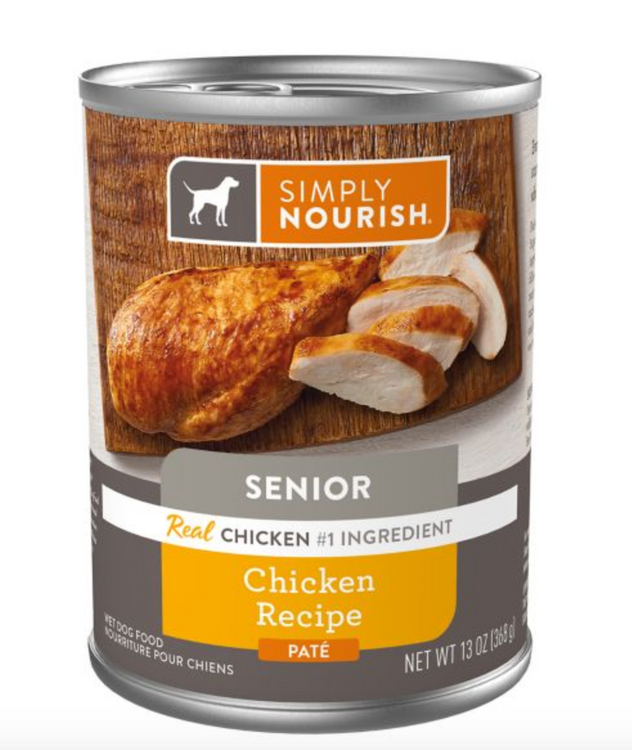 Simply Nourish® Pate Wet Senior Dog Food - Natural
