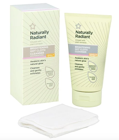 Superdrug Naturally Radiant Hot Cloth Face Cleanser