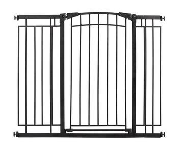 Evenflo Multi-Use Tall Décor Gate (Black Metal)