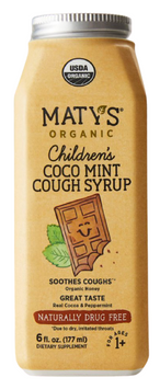 Maty's Organic Children's Coco Mint Cough Syrup