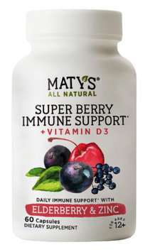 Maty's All Natural Super Berry Immune Support Capsules
