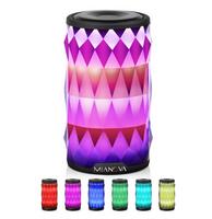 Mianova Portable Wireless Bluetooth Speaker 6 Color LED