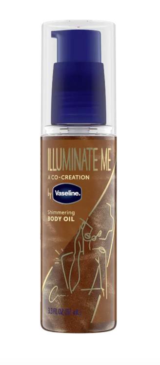 Vaseline Illuminate Me Shimmering Body Oil